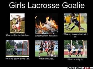 Girls Lacrosse ... Good Lax Goalie Quotes