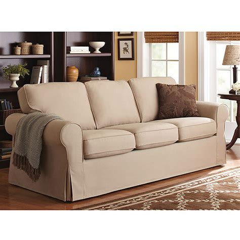Sofa And Loveseat Covers At Walmart by Better Homes And Gardens Slip Cover Sofa Colors