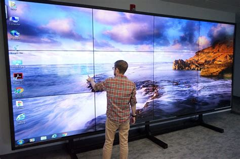 touch video wall