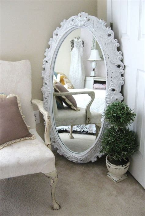 floor mirror in corner 52 ways incorporate shabby chic style into every room in your home