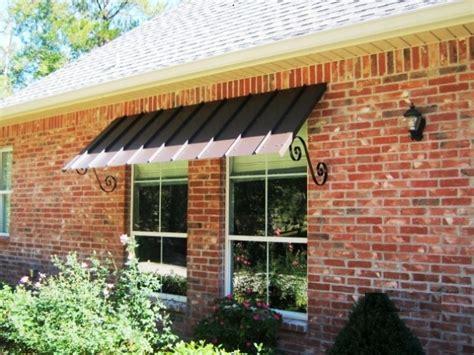residential metal awnings la custom awnings