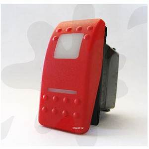 Carling Contura Ii Switch Red Cover