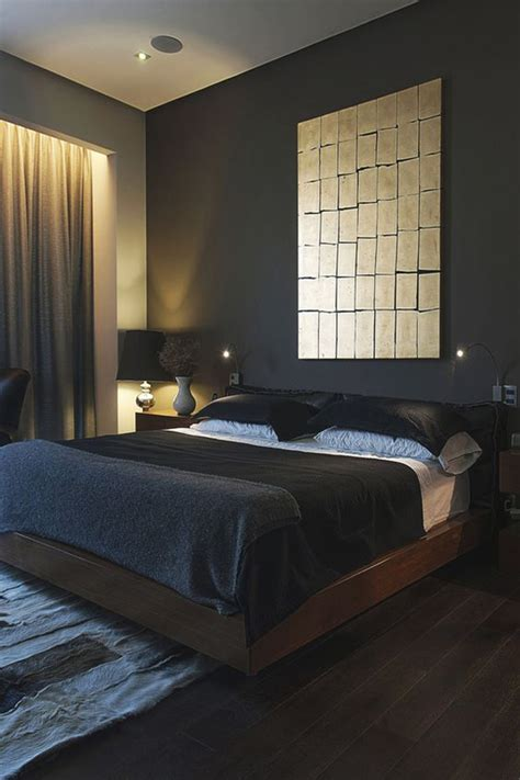 masculine bedroom ideas  bring  style home
