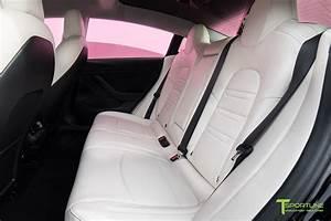 Tesla Model 3 Seat Upgrade Interior Kit in Perforated Insignia Design – T Sportline - Tesla ...