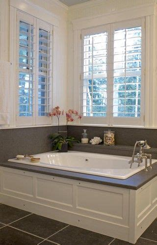 wainscoting shutters  tubs  pinterest