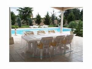 Housse Table De Jardin : housse salon de jardin rectangulaire ~ Teatrodelosmanantiales.com Idées de Décoration