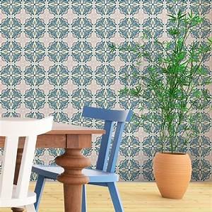 Stickers Carreaux De Ciment : 30 stickers carreaux de ciment azulejos aretha cuisine ~ Premium-room.com Idées de Décoration