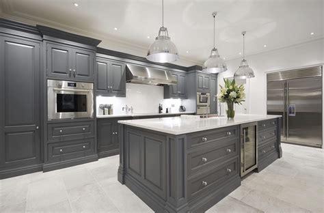 luxury grey kitchen tom howley