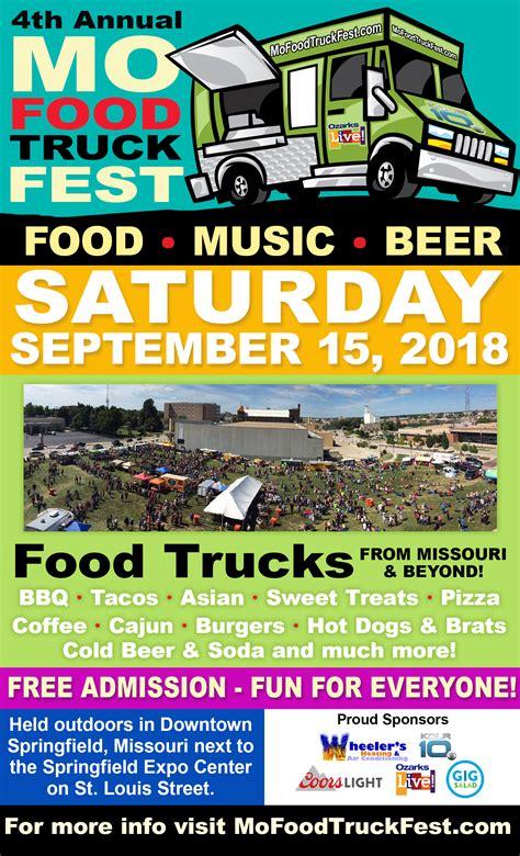 Mo Food Truck Fest  Saturday, September 15, 2018