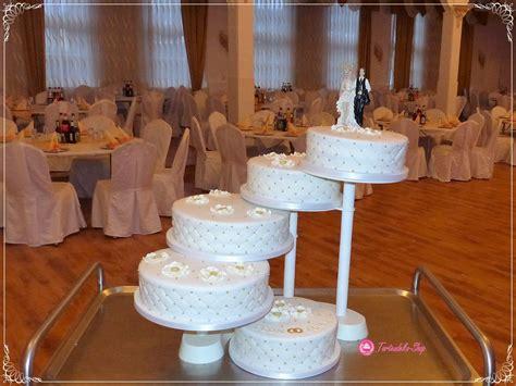 Hochzeitstorte 5stöckige Etagere  Hochzeitstorten In