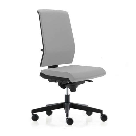 chaise de bureau york chaise de bureau avec dossier tapissé sur roulettes tela