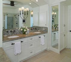 How Much Does A Bathroom Mirror Cost by White Master Bathroom Features A Shiplap Vaulted Ceiling