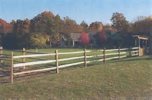 Wood Horse Fence Designs