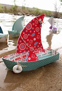 How To Make A Toy Boat That Floats