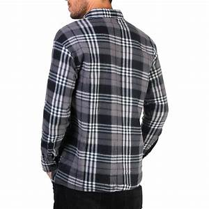Mens Check Soft Fleece Thermal Lumberjack Warm Winter Casual Work Flannel Shirt | eBay