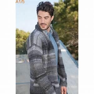 Veste En Laine Homme : mod le tricoter gratuit veste homme laine katia azteca fine ~ Carolinahurricanesstore.com Idées de Décoration