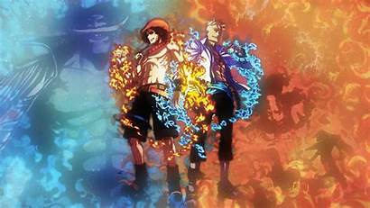 Piece Wallpapers Luffy Ace Cave
