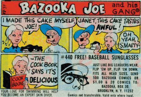 bazooka joe bazooka gum overhauls brand and loses comic strips the new york times