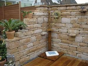 Garten Mauern Steine : santuro mauer galabau m hler betonmauer gartenmauer ~ Markanthonyermac.com Haus und Dekorationen