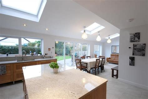 Kitchen Flintshire by Single Storey Rear Family Room Extension Building