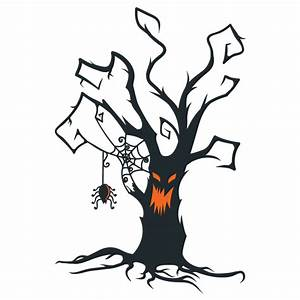 Gumtoo Designer Temporary Tattoos - Halloween Creepy Tree
