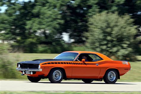 1970 Plymouth Cuda Aar Hd Wallpaper