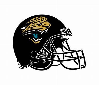 Jaguars Jacksonville Helmet Svg Coloring Logos Transparent