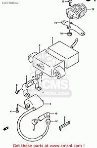 Cdi Unit For Dr350 1998  W