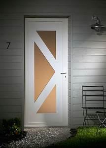Tringle Porte D Entrée : porte d 39 entr e contemporaine en pvc domeau concept ~ Premium-room.com Idées de Décoration