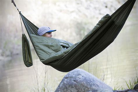 Sleeping Hammock by Bison Bag Is A Hammock And Sleeping Bag Roll Into One Shouts