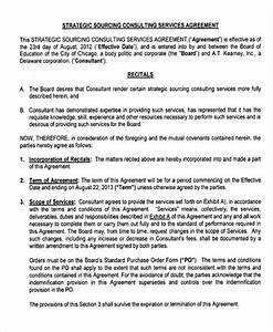 consulting agreement example With consulting fee agreement template
