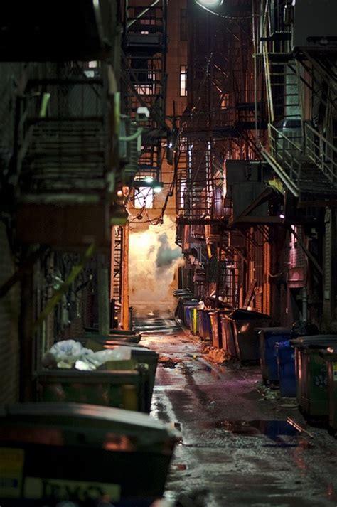 alley urban landscape city aesthetic street