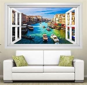 3d Vinyl Wandsticker : 3d wandmotiv venedig skyline italien fenster bildfoto wandbild wandsticker wandtattoo wohnzimmer ~ Sanjose-hotels-ca.com Haus und Dekorationen