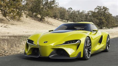 toyota ft  concept colored cars