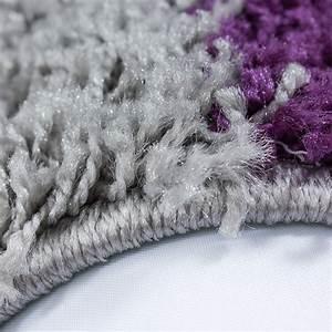 Teppich Lila Grau : hochflor langflor wohnzimmer shaggy teppich florh he 3cm kariert lila weiss grau ~ Orissabook.com Haus und Dekorationen
