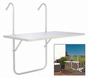 Tisch 40 X 60 : balkontisch balkonh ngetisch balkon h ngetisch tisch wei klappbar 60 x 40 cm ebay ~ Bigdaddyawards.com Haus und Dekorationen