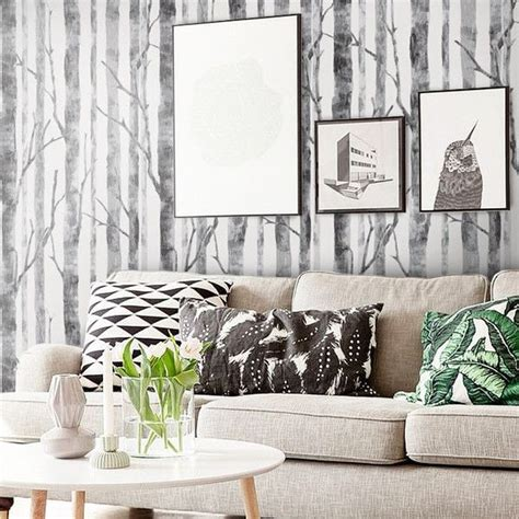 modern birch tree removable wallpaper birch tree
