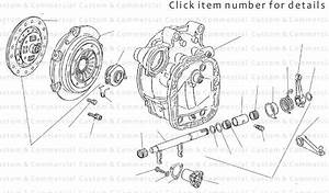 Vw Type 25 Type 25 Gearbox  U0026 Clutch Parts Type 25 Clutch