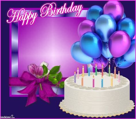 happy birthday cakes  balloons images bing images