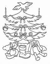 Coloring Tree Blank Printable Trees sketch template