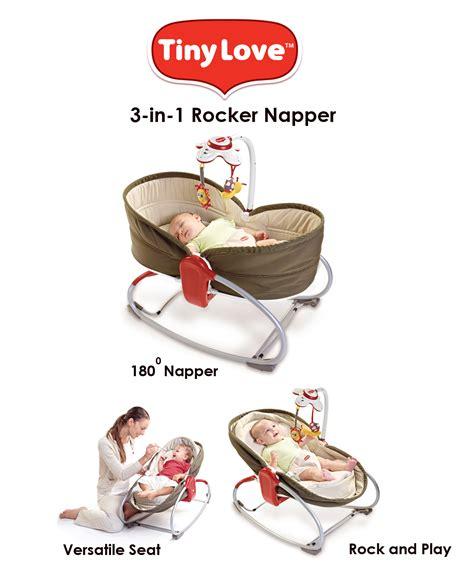 tiny 3 in 1 rocker napper