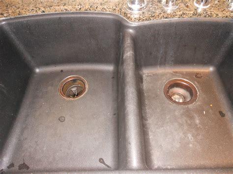 how to clean black granite composite kitchen sink how to clean a granite composite sink at margareta s haus 9705