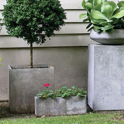square concrete planter newport square concrete planter moss manor