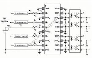 Digital Isolation And Termination Circuit Diagram World