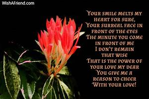 Cute Love Poems That Will Make Her Smile: Cute quotes for ...