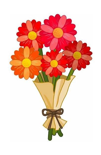 Flowers Clipart Bunch Clip Flower Bouquet