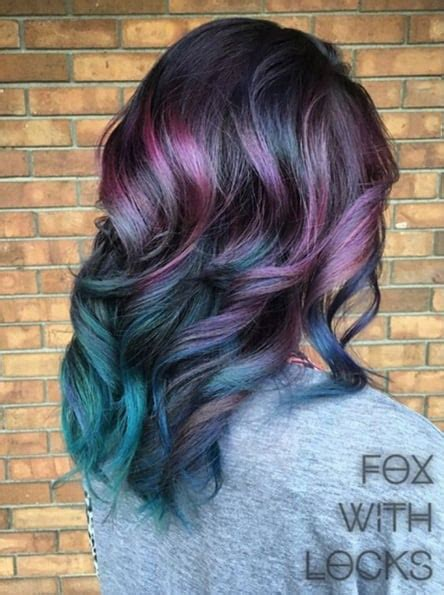 peacock hair color trend popsugar beauty photo