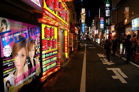 tokyo red light district shinjuku red light district tokyo d l flickr