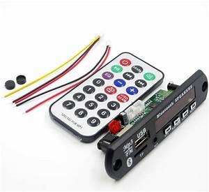 Wireless Bluetooth 12v Mp3 Wma Decoder Board Audio Module