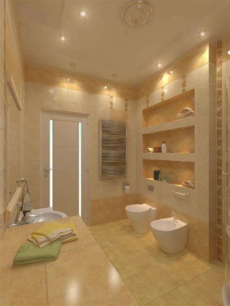 desain kamar mandi modern gambar  kolom desain